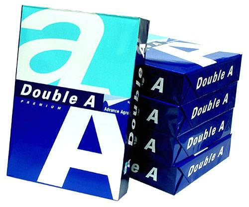 A4 Papper, Double A Copy Paper A4 80gsm, 75gsm, 70gsm