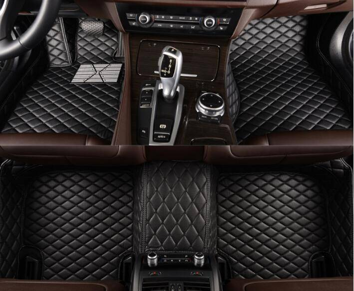Car Mats Ecofriendly Design and XPE Material Bars Style Heat-Proof Car Floor Mats for Mercedes Benz