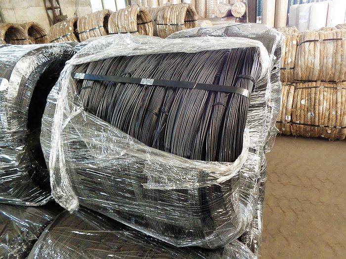 18 gauge annealed black iron wire / China supplier construction material