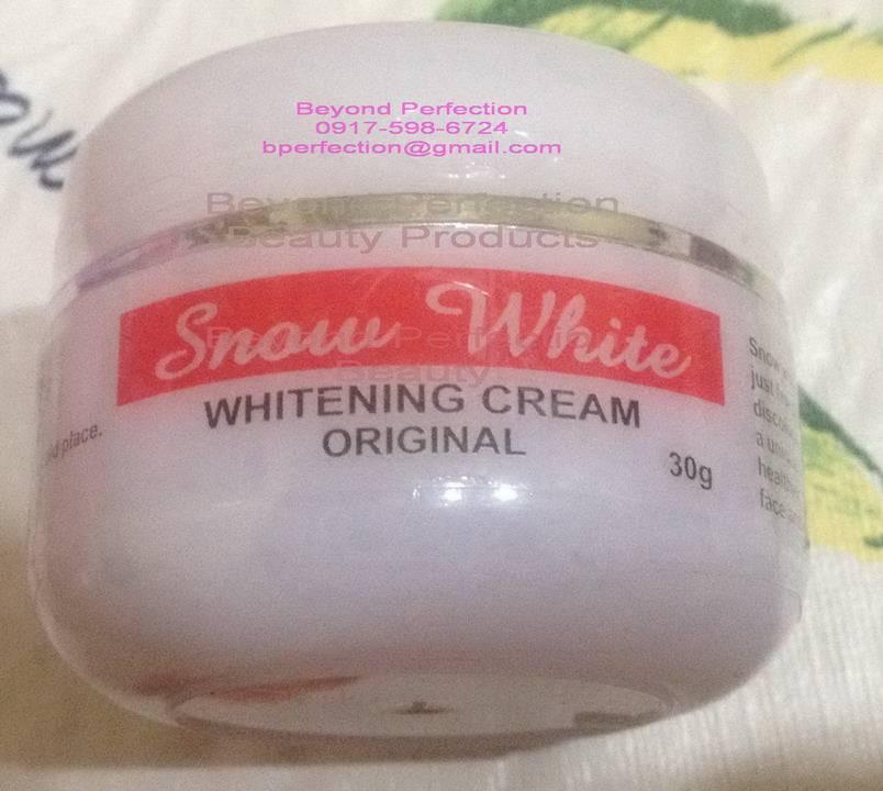 Snow White Whitening Cream Original