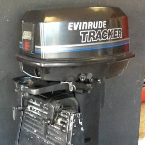 25 Hp Evinrude For Sale >> 1991 Evinrude Tracker 25 Hp Outboard Motor For Sale