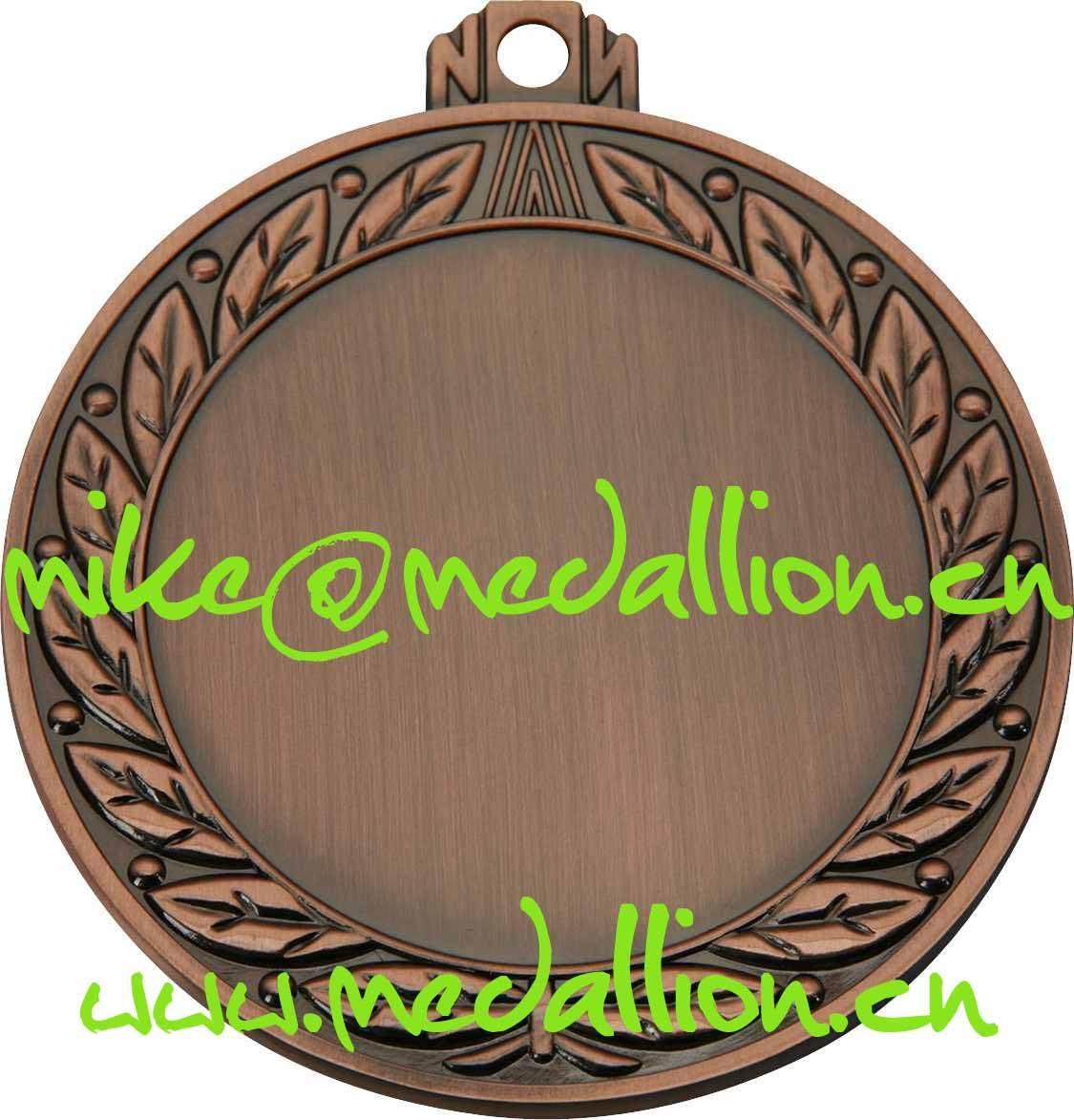 Bronze blank medal