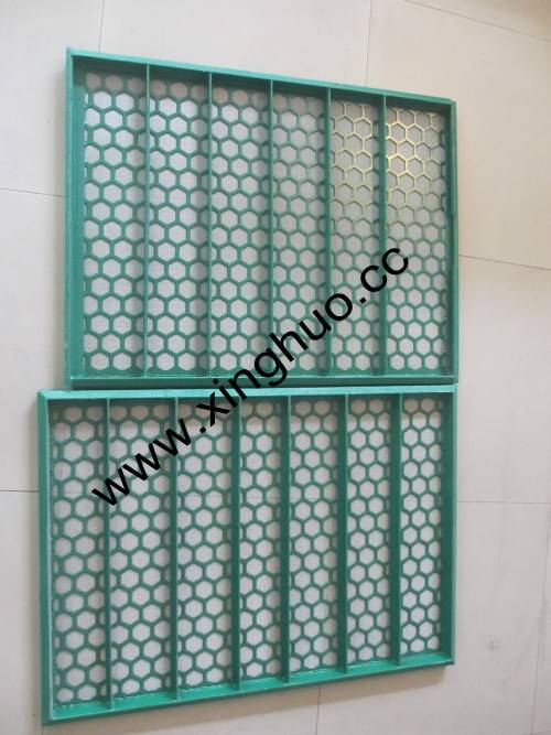 for Brandt VSM300 scalping/primary shaker screen