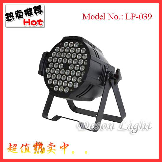 Modern professional stage lighting 54pcs 3w LED par light LP-039