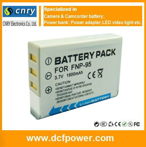 NP-95 NP95 Battery For FUJIFILM FUJI FinePix F30 F31fd