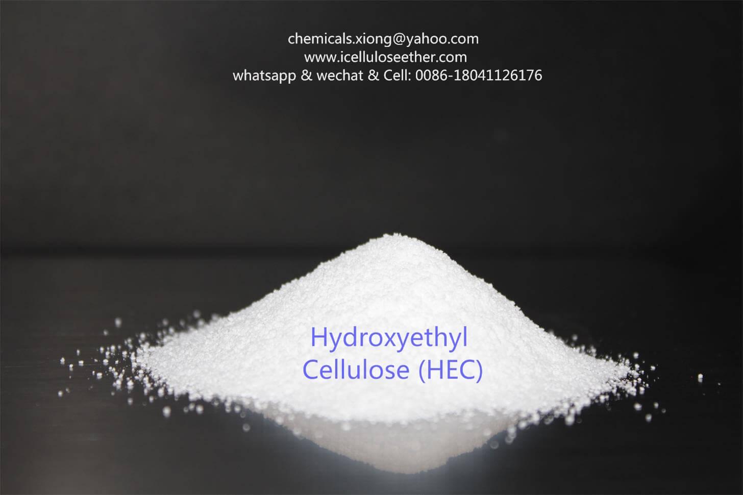 x Hydroxyethyl Cellulose (HEC),CAS 9004-62-0,Wallpaper adhesives