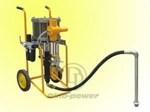 Pneumatic airless pump (piston type) & Airless spray gun kit (Air transducer)