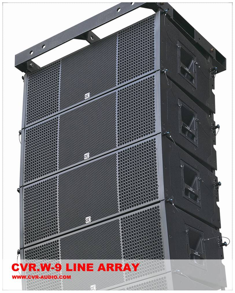 Professional audio factory + dual 12 inch line array speaker
