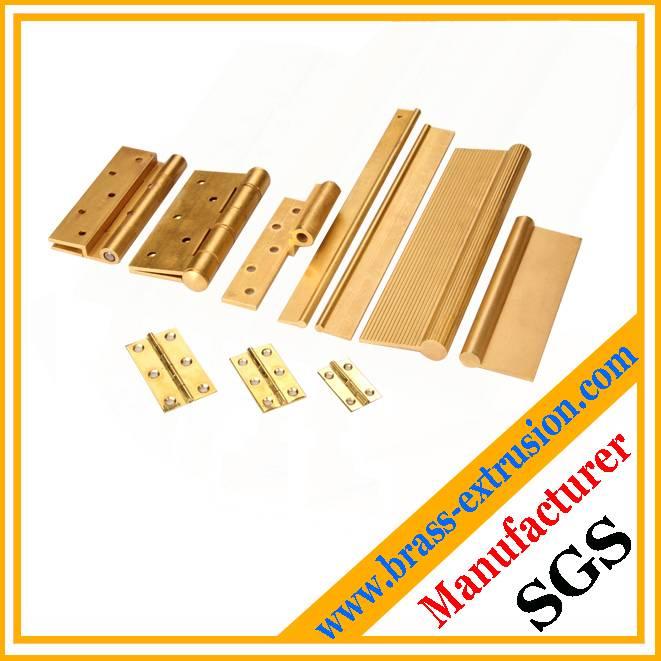 brass door hinges profiles
