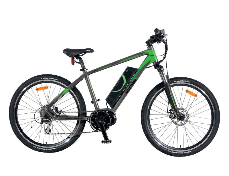 New design electric mountain bicycle middle motor