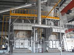 Baling Energy-- Industrial Melting Furnace of Aluminum and Alloy with Regenerative Combustion Saving
