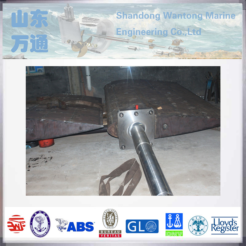 marine forged steel rudder blade for ship