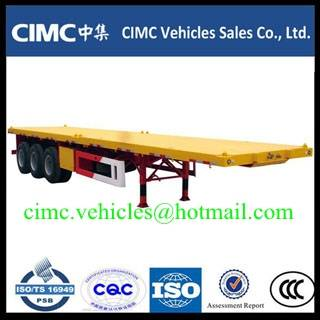 CIMC 3 axle 40ft container trailer