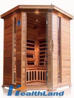 3-4 person FIR sauna