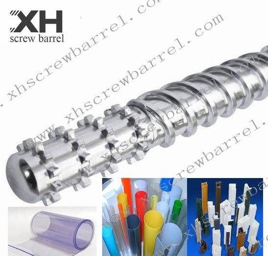 screw barrel for extruding PE film blowing