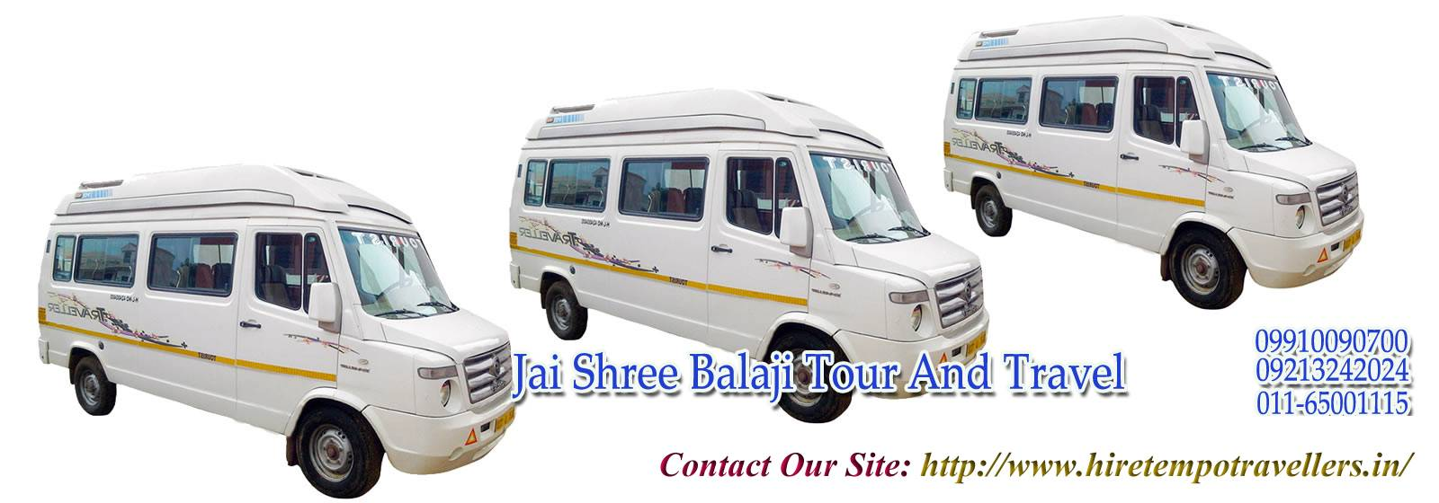 Luxury Tempo Traveller Services