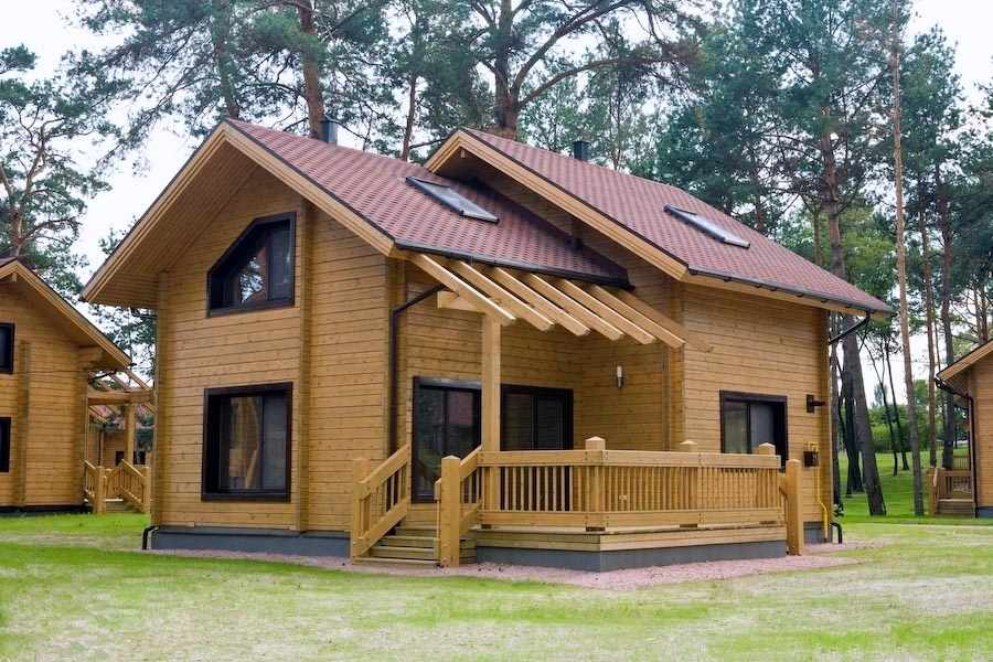 china supplier solid wooden house for sale