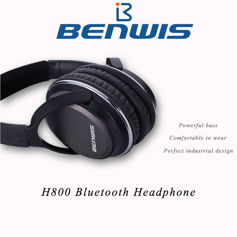 Factory price bluetooth stereo headset for phone and pc