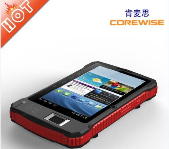 7'' Rugged Tablet PC,WIFI,3G,Bluetooth,RFID,Fingerpringt,Barcode Scanner