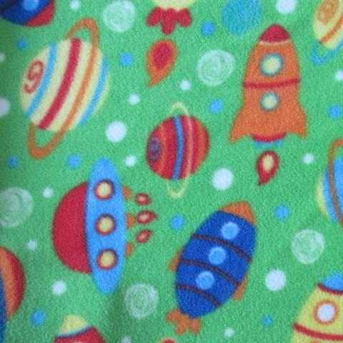 Polar Fleece Fabric Printed