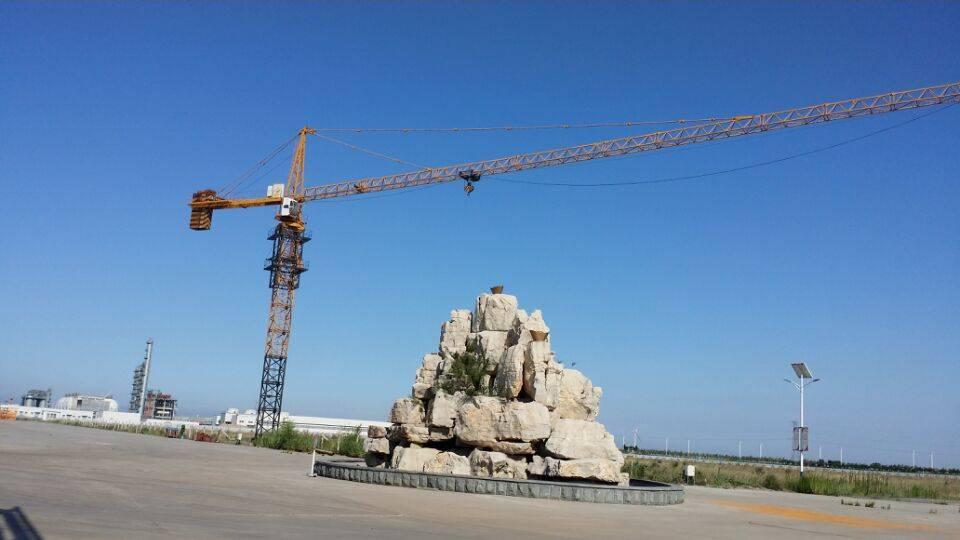 provide overseas service 4t tower crane manufacturer