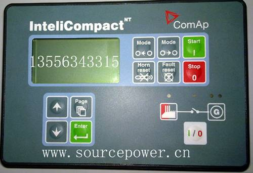 InteliCompact-NT-SPtM InteliCompact NT SPtM ComAp Gen-sets in Parallel to Mains Applications