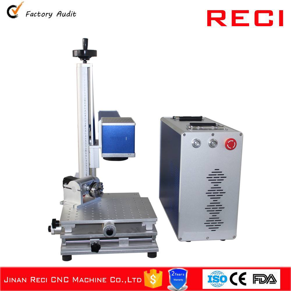 Desktop Split Fiber Laser Marking Machine
