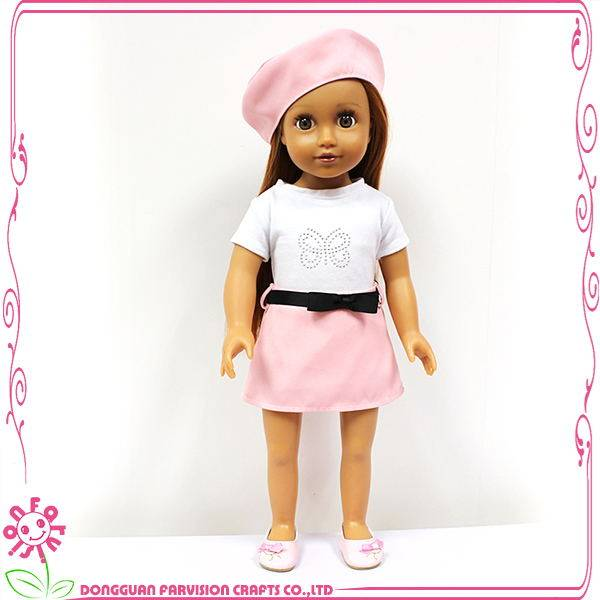 New white fashion doll for girl American doll