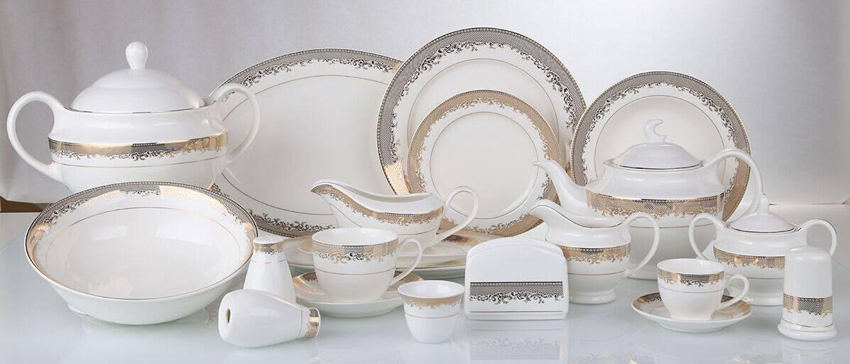 new bone china dinner set