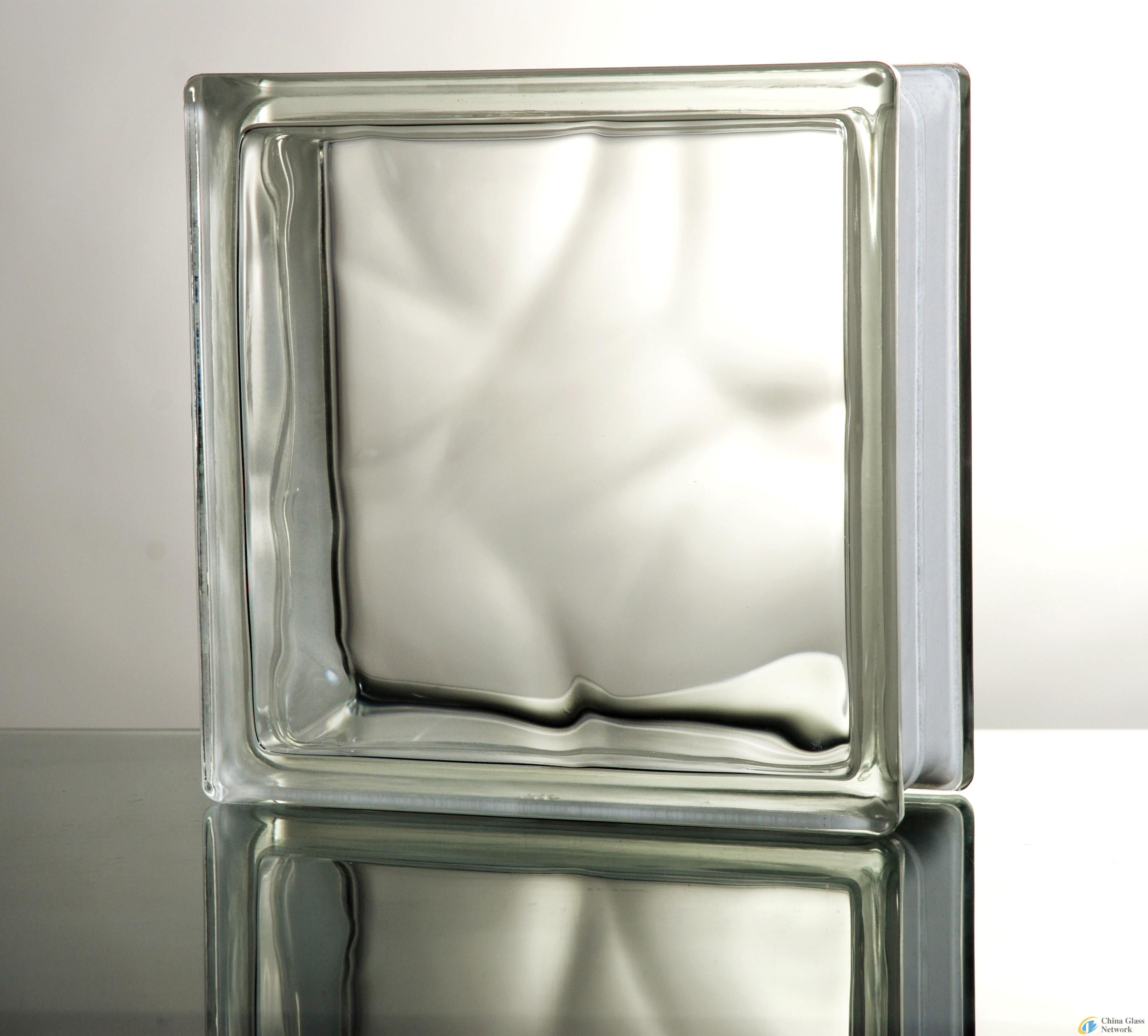 Clear Colored Building Hollow Small Corridor Decorative Crystal Glass Bricks