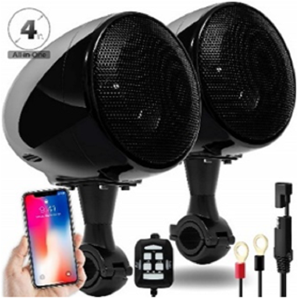 Motorcycle Bluetooth Speaker (2 Channels)