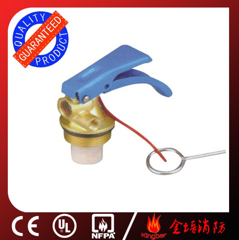 1-2KG Blue Color Brass Body Material Dry Powder Extintor Valve