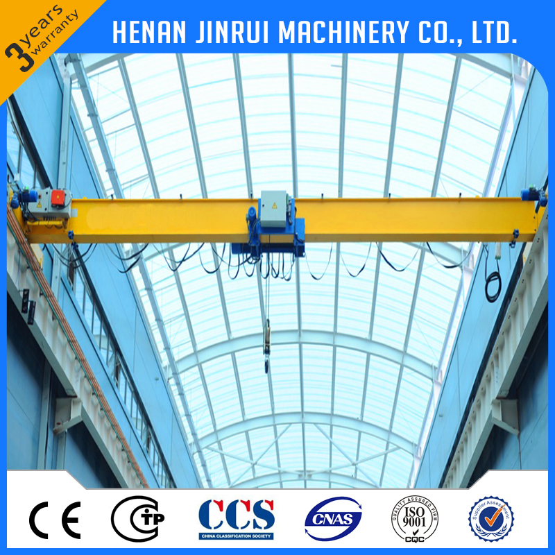 European Type & Japan Type Single Girder Overhead Crane 10 Ton