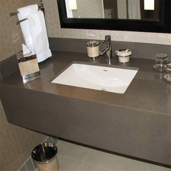 Cut to Size Quartz Stone Slab for Bathroom Vanity Top Standard Size 43/49/61/73inch*22.5inch