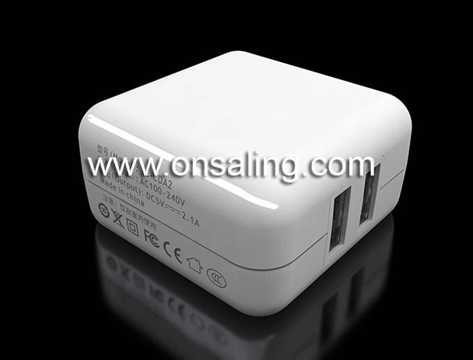 BT-CDA2 5V2.1A 8 USB Dual-port Power Adapter
