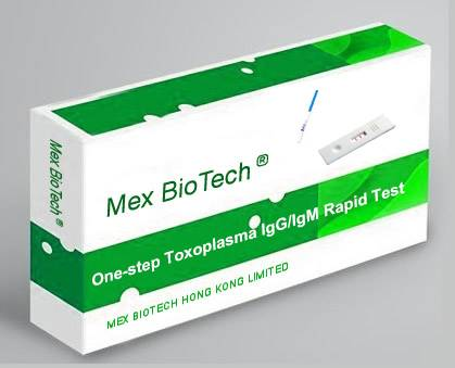 One Step TOX (Toxoplasma Antibody) (IgM/G) Rapid Test Kit (Colloidal Gold)