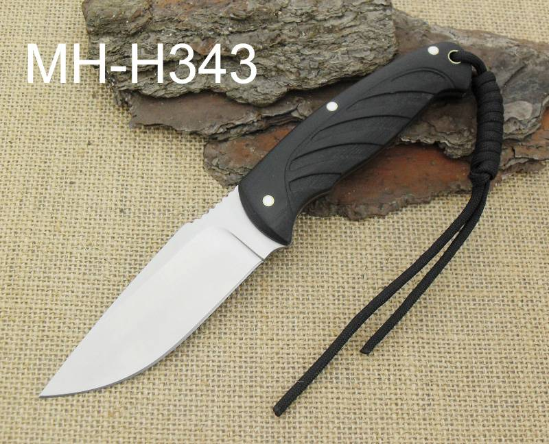 Knife hunting with G10 handle