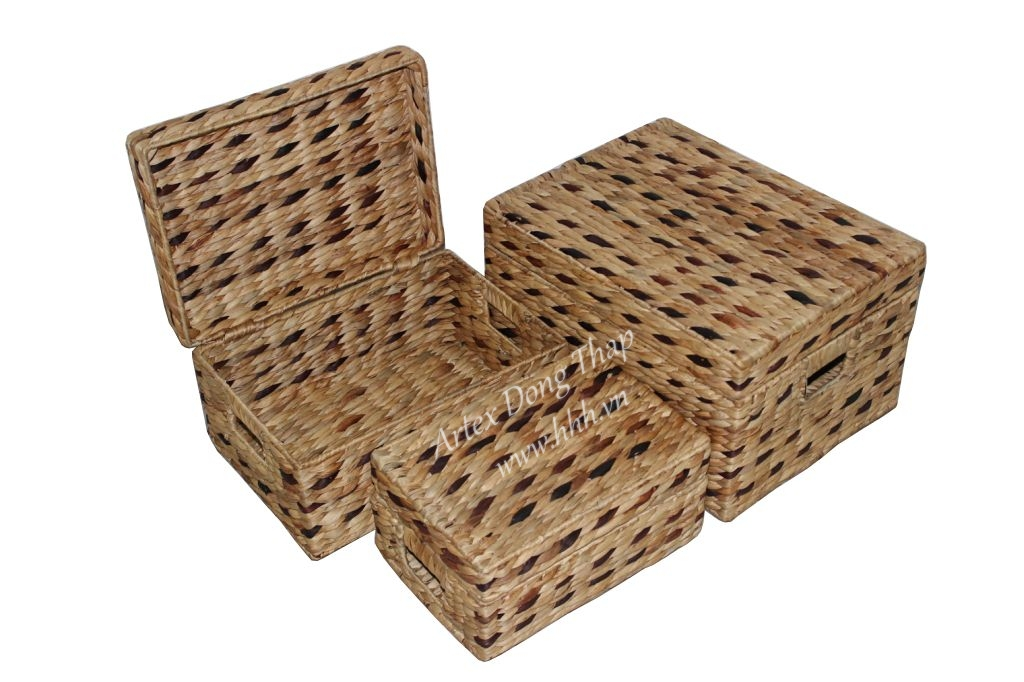 Water hyacinth trunk for home furniture - SD2378A-3MC