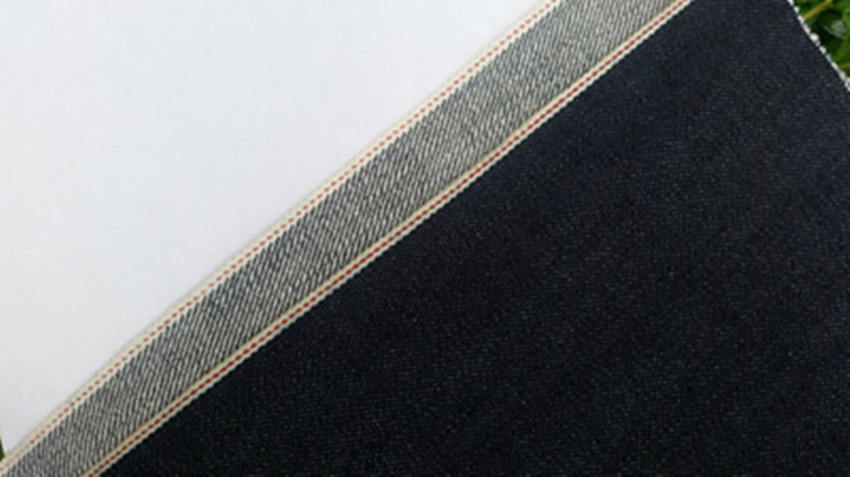 14oz cotton selvedge denim fabric twill denim fabrics in stock wholesale 0472A