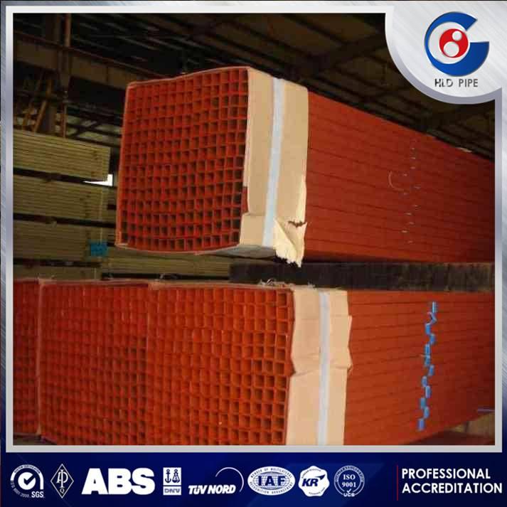 Manufacture High Quality Q345B Square Rectangular Pipe