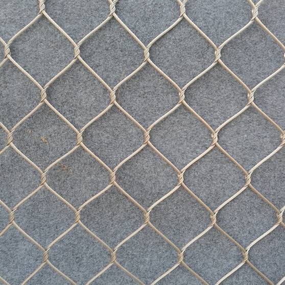 X-Tend Stainless Steel Cable rope mesh for zoo enclosure