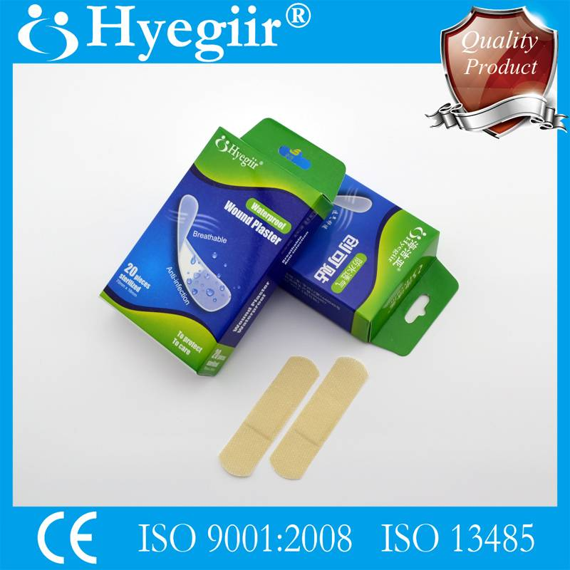 Boxed waterproof wound plaster