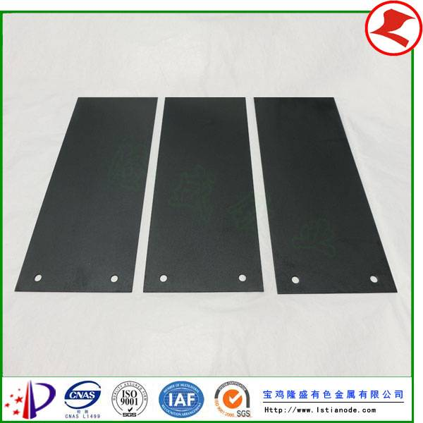 MMO Titanium Anode for Water Treatment