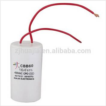 Accept Customize CBB60 sh 16uf 450V 50-60HZ Capacitor