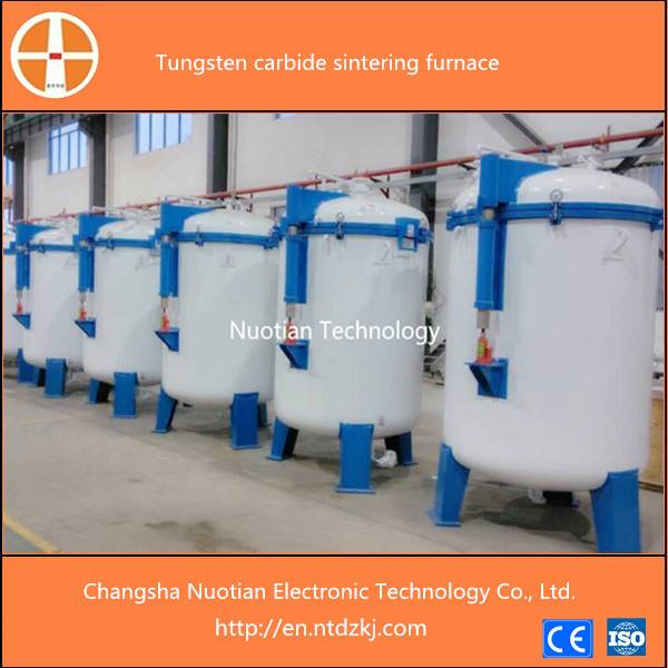 Stable quality tungsten cabide sintering furnace