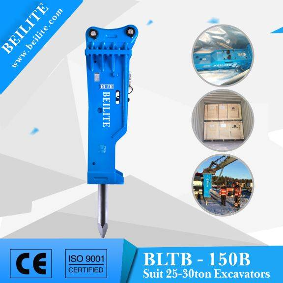 With CE certificate 150mm chisel hydraulic breaker BLTB150B for mining machinery and equipment