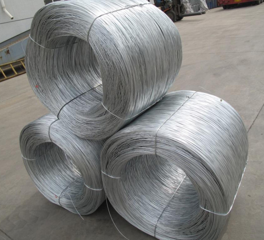 High quality galvanized wire for bucket handle for sale