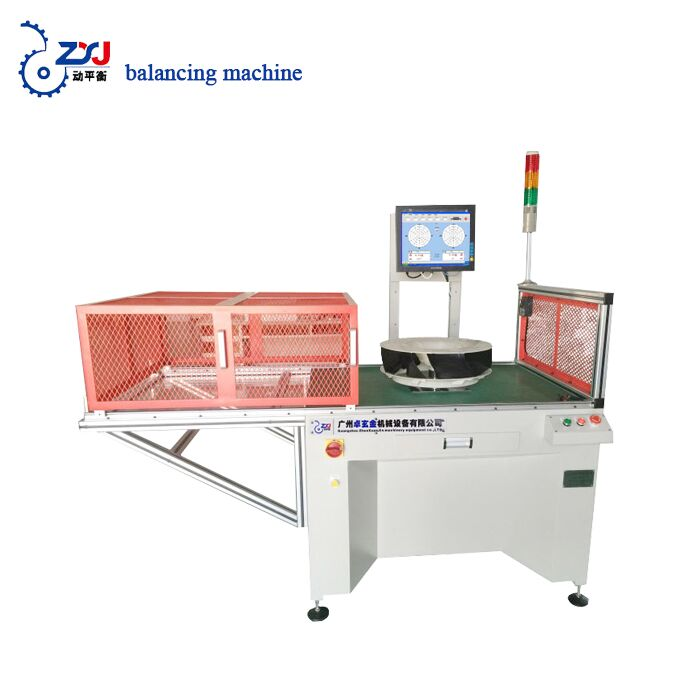 single support conditioning rotor testing machine wheel balancing machine