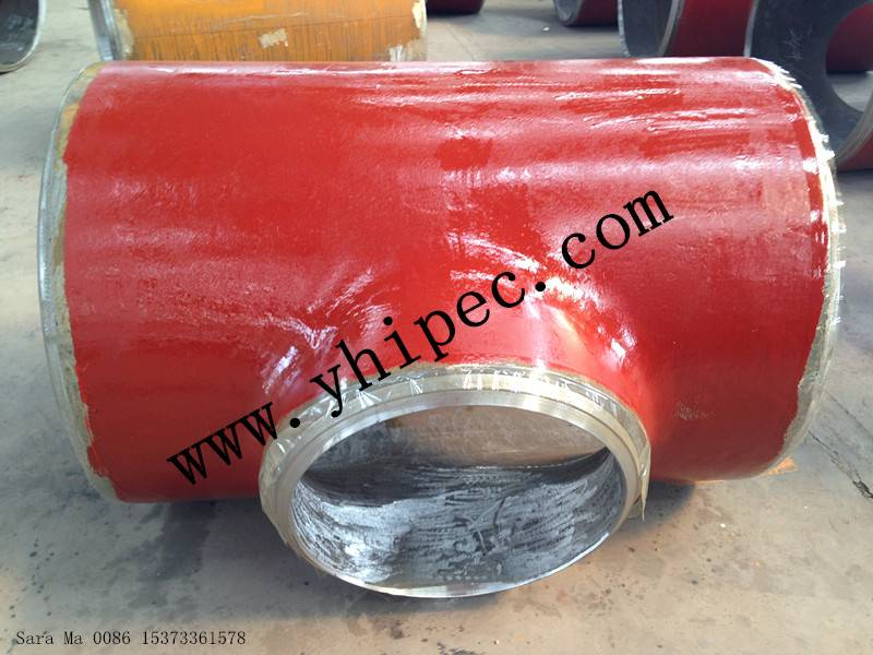 High Pressure Pipe Fittings Tee