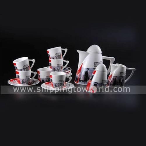 Wholesale Pottery Handicraft, Decoration Artwork Coffee cup Coffee pot Coffee milk bottle Coffee sau
